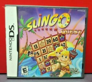 Slingo-Quest-Nintendo-DS-DS-Lite-3DS-2DS-Game-Complete-Tested