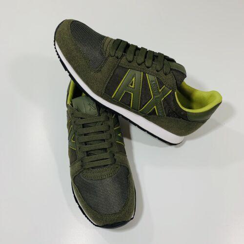 top A Zapatillas hombre de Armani bajas Logo x Exchange retro para 7 deporte Tamaño y BTqxx74Hw
