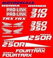Stickers Decals Graphics For Trx250r Trx 250 R 250r Fender Hood Plastics Tank