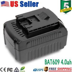 For-BOSCH-18V-4000mAh-Battery-Li-ion-BAT609-BAT618-Electric-Prof-Power-Tool-Free