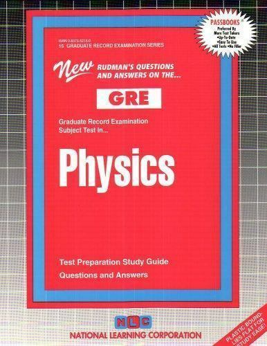National Learning Corporation-Physics BOOK NEW