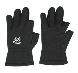 Dennett-Neoprene-Extra-Insulated-Gloves-Exposed-Index-amp-Thumb-Fishing-Gloves