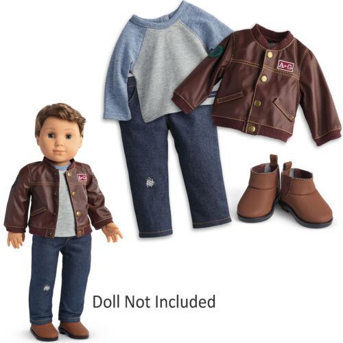 American Girl cc Logan Performance Outfit für 45.7cm Puppe Kleidung Shirt Neu