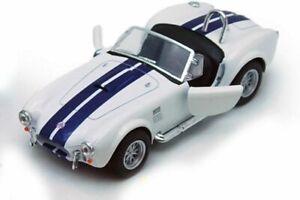 Brand-New-5-034-Kinsmart-1965-Shelby-Cobra-427-S-C-Diecast-Model-Toy-Car-1-32-White
