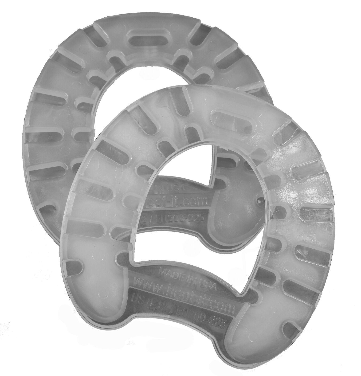 Plastic Horseshoes Size US 8-12 - HOOF-it  Natural Flex Horseshoes