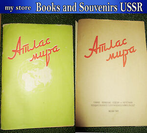 1964-Book-USSR-Atlas-of-the-World-lot-143