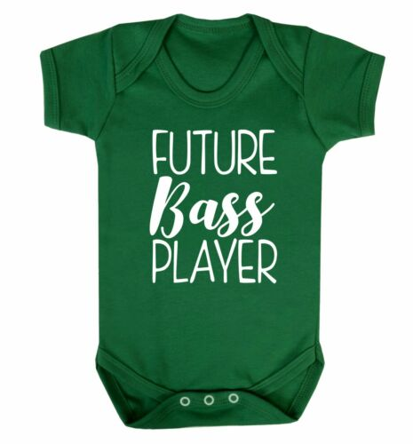 Future bass player baby vest guitar electric acoustic strum lyric musician 3984