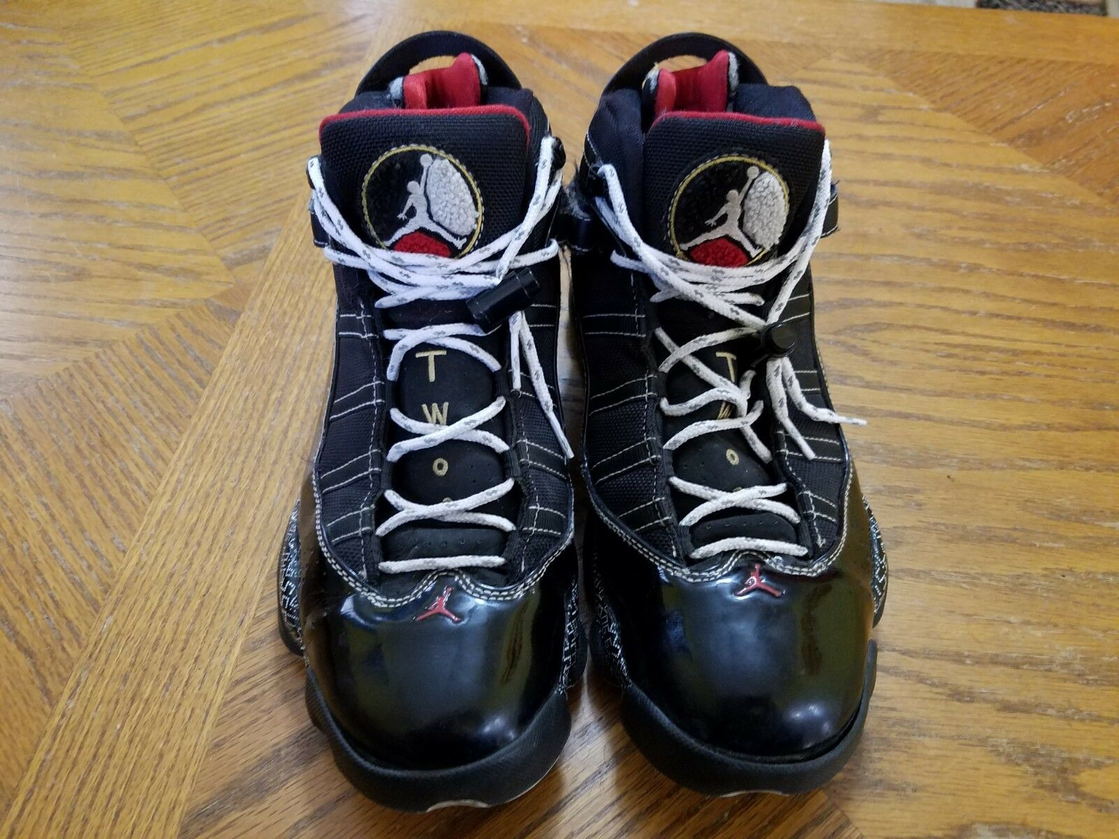 Used Worn Size 8 Nike Air Jordan 6 Rings Hall of Fame shoes 371497-031