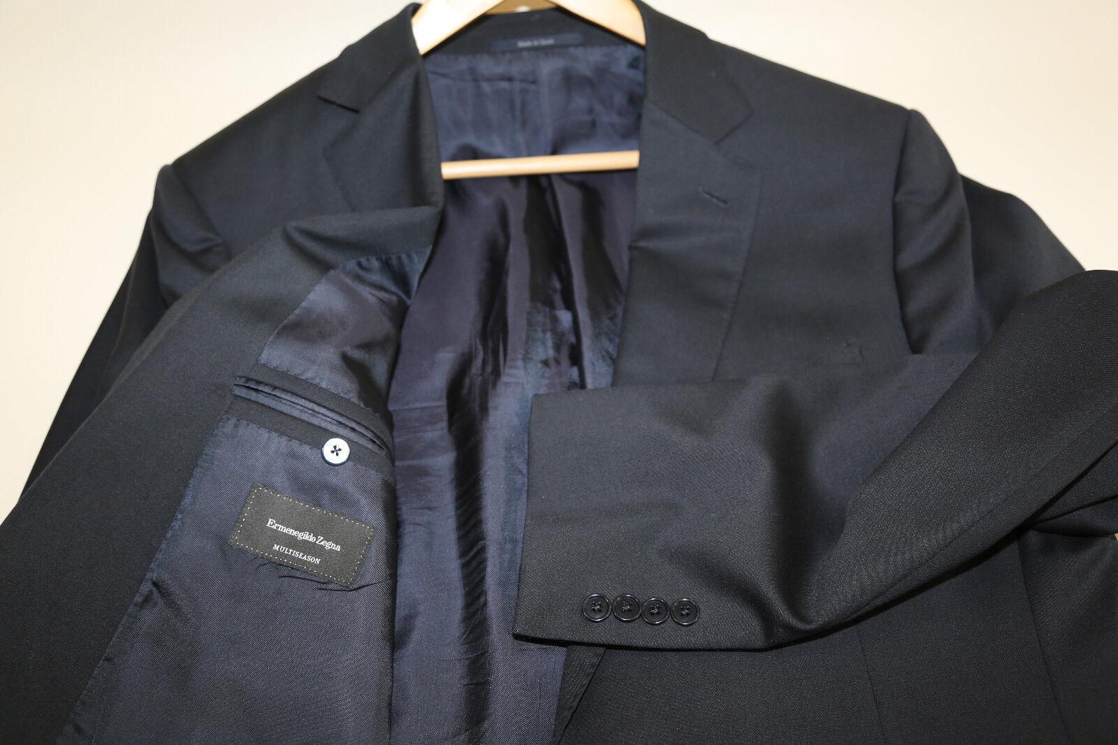 234 Ermenegildo Zegna NavyTwo Button Blazer Jacket Größe 44 R