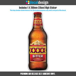 XXXX-Bitter-Stubby-Sticker-for-Car-Window-Boat-Camping-Man-Cave-Fridge-Garage