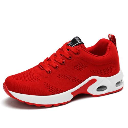 Damen Sportschuhe Laufschuhe Turnschuhe Strick Fitness Running Sneaker Freizeit