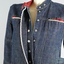 DKNY Jeans Damen-Jeansjacke Business-Jacke Bikerjacke Baumwolle blau Gr.M NEU