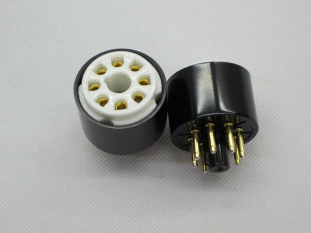1pc Gold plated 6GB8 instead EL34  tube converter adapter