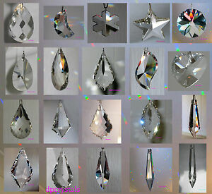 Sun catcher Hanging Crystal Drop Rainbow Prism Feng Shui Mobile ...