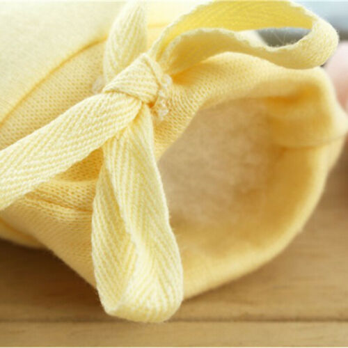 Adjustable Baby Anti Scratching Gloves Protection Face Cotton Scratch Mittens IT