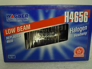 WAGNER-H4656-LOW-BEAM-HALOGEN-HEADLAMP-LIGHT-12V-SEALED-BEAM-3-PIN-2A1-NEW