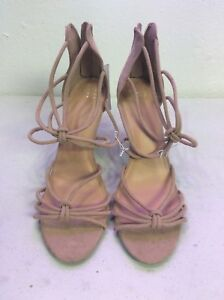 d85b3a3e1b4 Details about Kylin Caged Strap Stiletto Heel Pumps A New Day™ Womens Taupe  Size 6 1/2