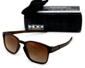 Oakley Latch Squared >> Details About New Genuine Oakley Latch Sq Matte Rootbeer Brown Gradient Sunglasses Oo9353 09