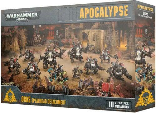 negozio a basso costo giocos lavoronegozio Warhammer Warhammer Warhammer 40K Apocalypse Orks Spearhead Detachment 50-42  fabbrica diretta