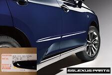 Lexus Rx350 Rx450h 2010 2015 Oem Body Side Moldings Set Obsidian Black 212 Fits 2013 Lexus Rx350
