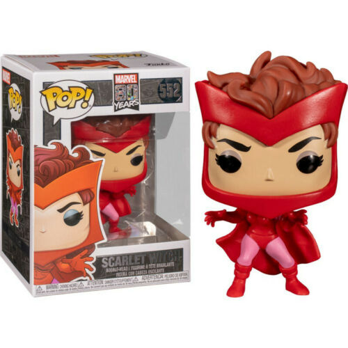Scarlet Witch *BRAND NEW* Vinyl Figure First Appearance Marvel 80 Years Pop