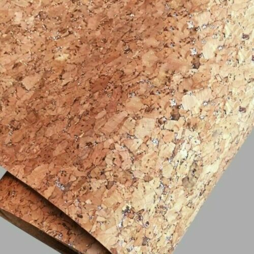 Grain Wood Pattern Fabric Faux PU Leather Leatherette Upholstery DIY Craft