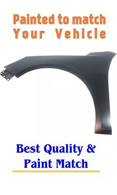 New PRE PAINTED Passenger Fender for 2002-2009 Chevy TrailBlazer w Free TouchUp