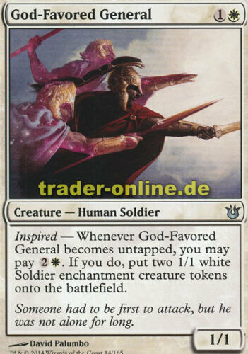 Born of the Gods Magic Götterbegnadeter General 2x God-Favored General