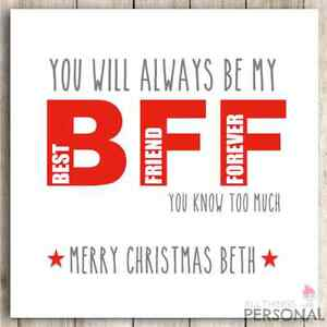 PERSONALISED Handmade BFF, Best Friends, Best Friend, Bestie ...