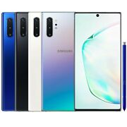 "Samsung Galaxy Note 10+ Plus SM-N9750/DS 256GB 12GB RAM (FACTORY UNLOCKED) 6.8"""