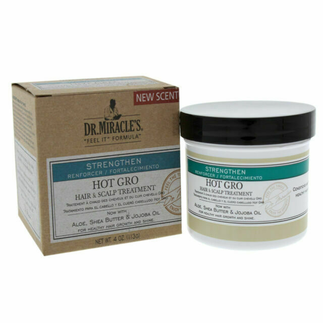 Dr. Miracle's Hot Gro Hair & Scalp Treatment Conditioner 4 Oz Each for sale  online | eBay