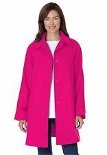 857162ace8ec1 item 6 NIP WOMAN WITHIN Plus Size 32W A-Line Lined Hot Pink Wool Blend Coat  -NIP WOMAN WITHIN Plus Size 32W A-Line Lined Hot Pink Wool Blend Coat