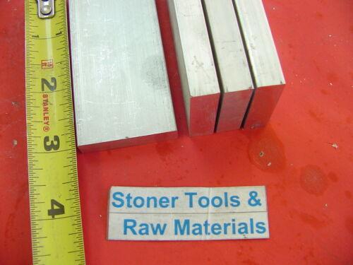 "4 Pieces 3//8/"" X 1-1//2/"" ALUMINUM 6061 FLAT BAR 3/"" long T6 .375/"" Solid Mill Stock"