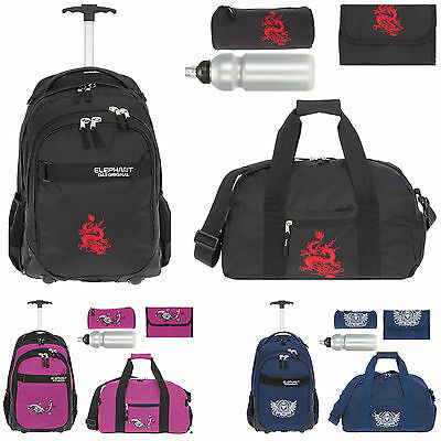 Trolley ELEPHANT HERO SIGNATURE Schultrolley Schulrucksack Motiv 12646 LION f