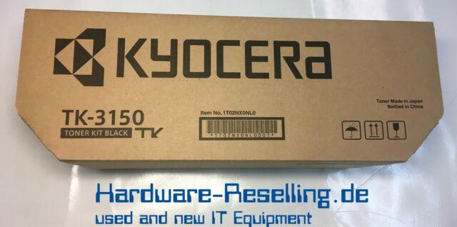 Original Kyocera Toner Kit TK-3150 Black New Boxed