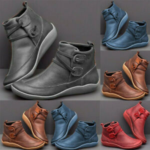 women's arch support boots multi colors casual wedge