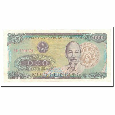Considerate Banknote 55-58 1000 Dng Vietnam Chills And Pains 1988 Km:106a Au 1989 #565377