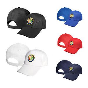 Alfa-Romeo-CARBONIO-Cappello-Ricamato-Cappellino-Baseball-Cap-Uomo-Donna-Regalo