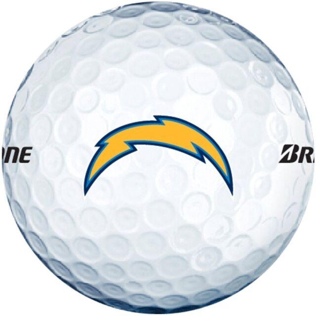 3 Dozen Bridgestone E6 Mint / AAAAA (San Diego Chargers NFL LOGO) Golf Balls