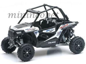 new ray 57593 polaris rzr xp 1000 dune buggy 4 wheels 1 18 white ebay. Black Bedroom Furniture Sets. Home Design Ideas