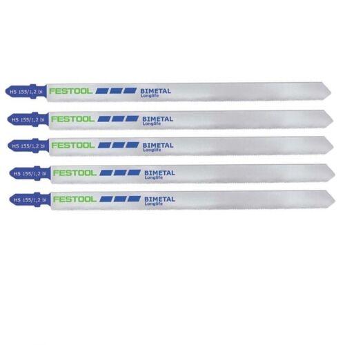 Festool pli scie HS 155//1 2 bi 5 pièce NR 490180 scie sauteuse pendulaire scie sauteuse