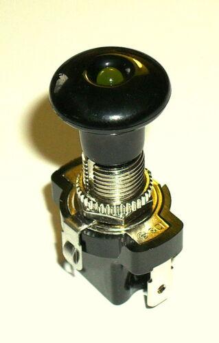 ein//aus LED ambere 12V 10A  Zugschalter
