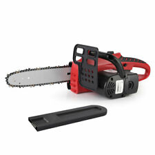 """GIANTZ 20V Cordless Electric Chainsaw E-Start Bar 10"""" Lithium-Ion Chargeable"""