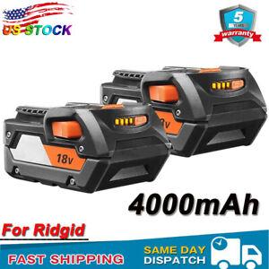 2x-4-0AH-R840087-For-Ridgid-18V-Hyper-Lithium-Battery-AC840087P-R840085-R840084