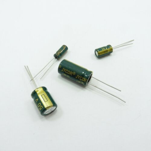 470uF 50V LOW ESR Electrolytic Capacitor Radial 10uF