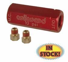 10 psi Red Wilwood 260-13784 Residual Pressure Valve