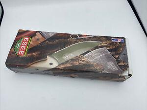 Esee Knives Model 4 - 3D Orange & Black G-10 Handle / 1095 Steel / Open Box Pics