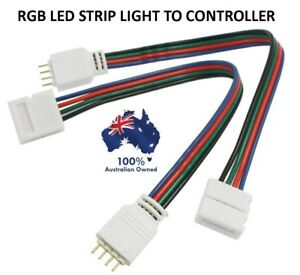 Phenomenal 4X 4 Pin Rgb Led Strip Light To Controller Connectors Wire Cable Wiring Digital Resources Funiwoestevosnl