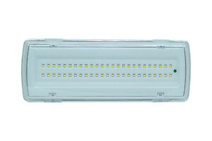 Lampada-plafoniera-emergenza-50-led-4w-406lm-incasso-parete-91062