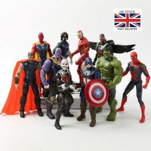Action-Figure-Marvel-Legends-Avengers-Captain-America-Spider-Man-Iron-Man-Set